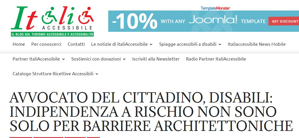 italia accessibile barriere architettoniche