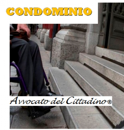 Barriere architettoniche e condomino disabile